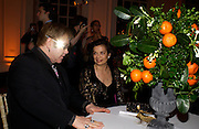 Sir Elton John and Bianca Jagger. Mario Testino, Bianca Jagger and Kenneth Cole celebrate Women to Women: Positively Speaking. - A publication to raise awareness of women living with Aids. The Orangery, Kensington Palace. 2 December 2004. ONE TIME USE ONLY - DO NOT ARCHIVE  © Copyright Photograph by Dafydd Jones 66 Stockwell Park Rd. London SW9 0DA Tel 020 7733 0108 www.dafjones.com