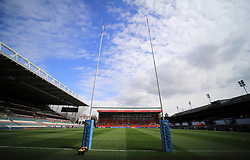 A general view of Welford Road the home of Leicester Tigers - Mandatory by-line: James Baylis/JMP - 06/04/2019 - RUGBY - Welford Road - Leicester, England - Leicester Tigers v Exeter Chiefs - Gallagher Premiership Rugby