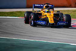 February 28, 2019 - Montmelo, Barcelona, Calatonia, Spain - Lando Norris of McLaren seen in action during the second week F1 Test Days in Montmelo circuit, Catalonia, Spain. (Credit Image: © Javier Martinez De La Puente/SOPA Images via ZUMA Wire)