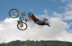 Darren Berrecloth Superman Seat Grab at Crankworx 2007