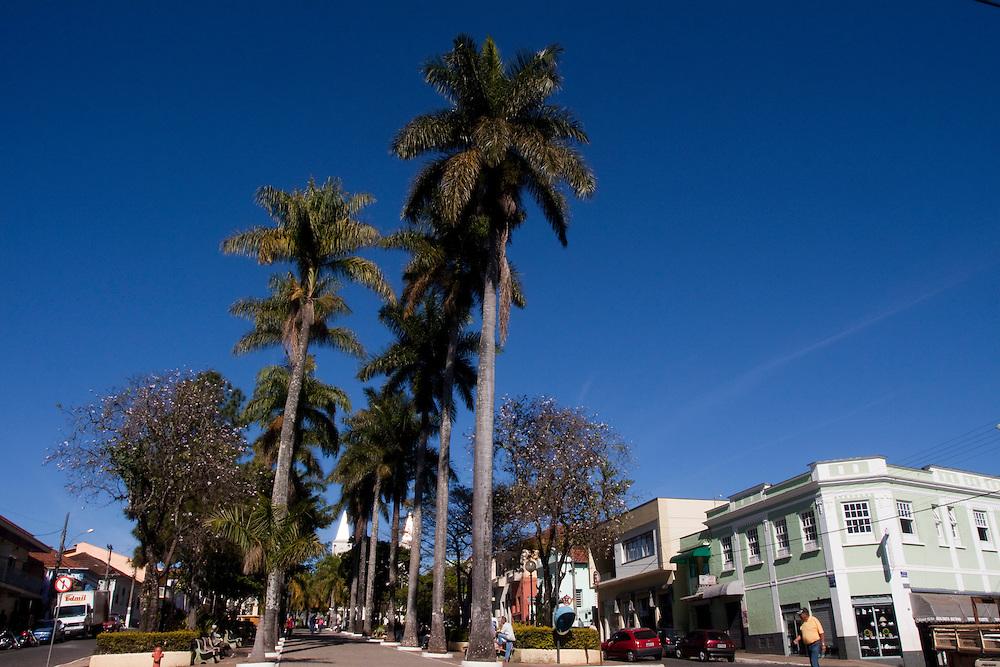 Campanha_MG, Brasil...Praca na cidade de Campanha...The square in Campanha town...Foto: MARCUS DESIMONI / NITRO
