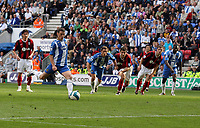 Photo: Sportsbeat Images.<br />Wigan Athletic v Fulham. The FA Barclays Premiership. 15/09/2007.<br />Wigan's Jason Koumas scores from the spot