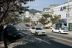 SOUTH KOREA MASAN 28OCT07 - View of the roads in downtown of the port city of Masan, south Korea...jre/Photo by Jiri Rezac..© Jiri Rezac 2007..Contact: +44 (0) 7050 110 417.Mobile:  +44 (0) 7801 337 683.Office:  +44 (0) 20 8968 9635..Email:   jiri@jirirezac.com.Web:    www.jirirezac.com..© All images Jiri Rezac 2007 - All rights reserved.