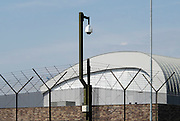 Nederland, Nijmegen, 26-7-2010Bewakingscamera bij het terrein van de TBS gevangenis van de Pompestichting, pompekliniek.Foto: Flip Franssen/Hollandse Hoogte