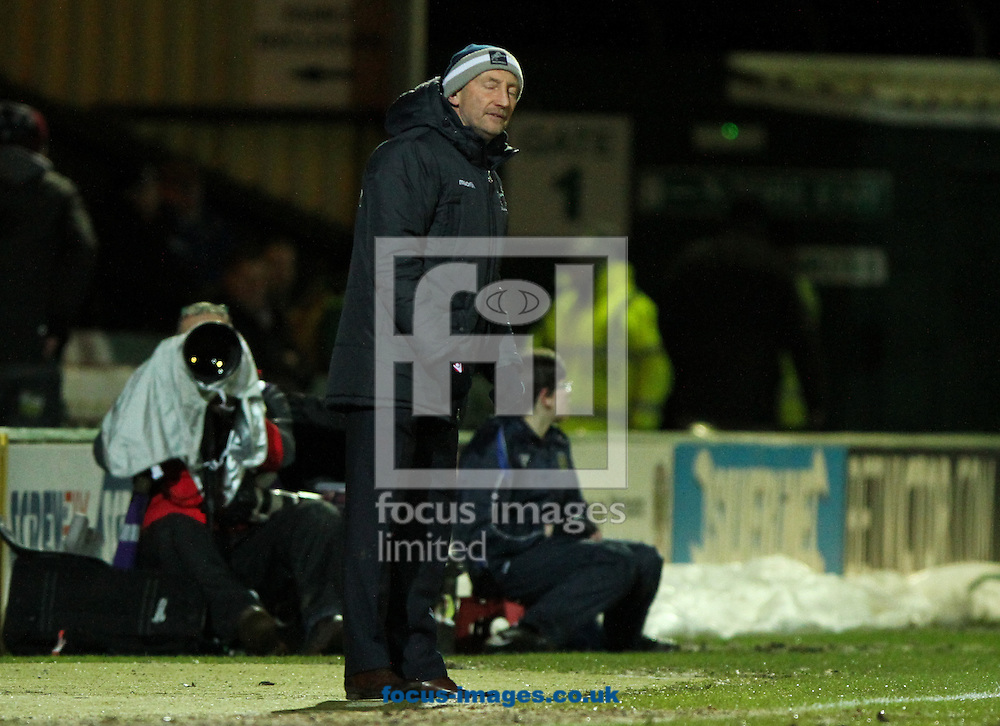 Millwall manager Ian Holloway during the Sky Bet Championship match at Huish Park, Yeovil<br /> Picture by Tom Smith/Focus Images Ltd 07545141164<br /> 11/02/2014