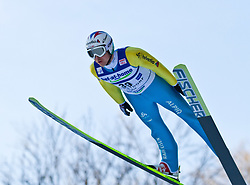 05.02.2011, Heini Klopfer Skiflugschanze, Oberstdorf, GER, FIS World Cup, Ski Jumping, Probedurchgang, im Bild Simon Ammann (SUI) , during ski jump at the ski jumping world cup Trail round in Oberstdorf, Germany on 05/02/2011, EXPA Pictures © 2011, PhotoCredit: EXPA/ P. Rinderer