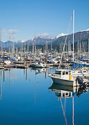 Alaska. Seward small boat harbor.