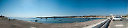 Malta, Panoramic view of Bugibba harbour