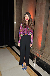 SARAH ANN MACKLIN at the Warner Music Group & Ciroc Vodka Brit Awards After Party held at The Freemason's Hall, 60 Great Queen St, London on 24th February 2016.