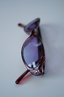 purple rose tinted sunglasses