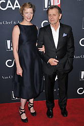 (L-R) Lisa Rinehart and Mikhail Baryshnikov arrives at the L.A. Dance Project's Annual Gala held at LA Dance Project in Los Angeles, CA on Saturday, October 7, 2017. (Photo By Sthanlee B. Mirador/Sipa USA)