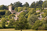 St Faith with All Saints Church in Coleshill, the Vale of White Horse, Oxfordshire, United Kingdom