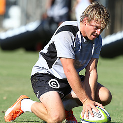 DURBAN, SOUTH AFRICA, November 23 2015 - Joe Pietersen during The Cell C Sharks Pre Season training for the 2016 Super Rugby Season at Growthpoint Kings Park in Durban, South Africa. (Photo by Steve Haag)<br /> images for social media must have consent from Steve Haag