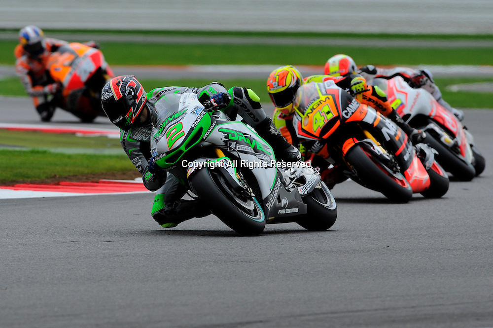 29.08.2014.  Silverstone, England. MotoGP. British Grand Prix. Leon Camier (Drive Aspar Team) during the free practice sessions