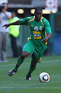 CAPE TOWN, SOUTH AFRICA - 28 MARCH 2010, Mlungiseni Masinga of Golden Arrows attacks down the wing  during the Telkom Knock Out match between Ajax Cape Town and Golden Arrows held at Newlands Stadium in Cape Town, South Africa..Photo by: Shaun Roy/Sportzpics