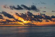 Sunset, Bora, Bora, French Polynesia, South Pacific