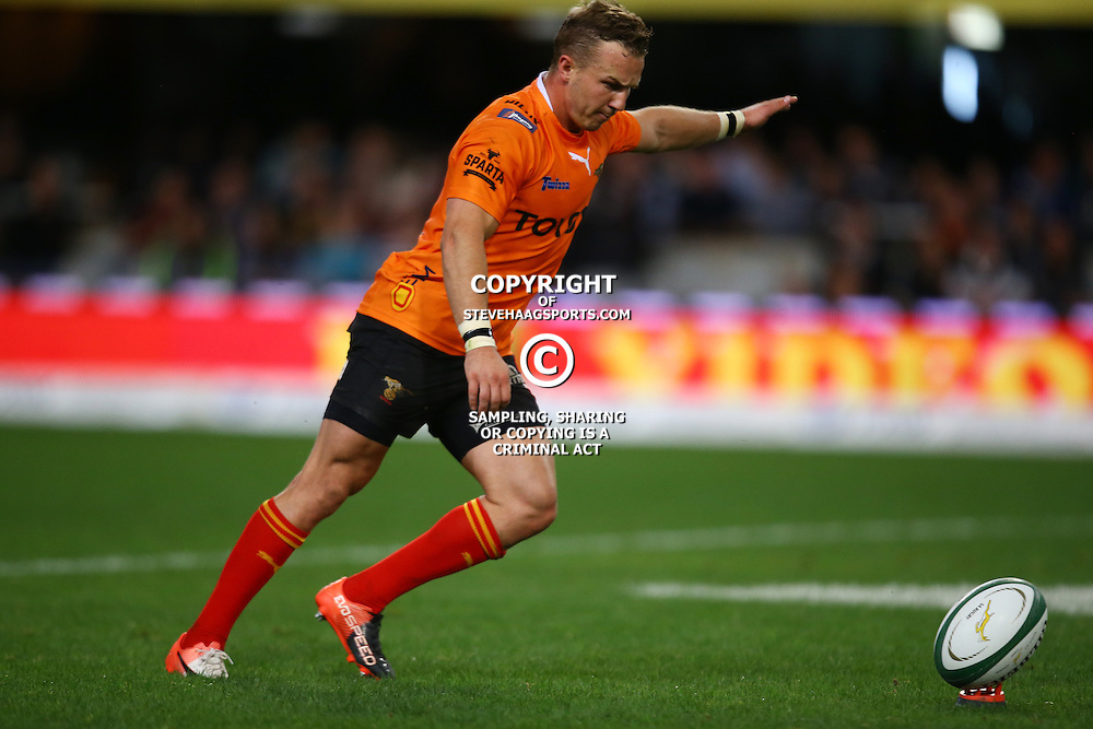 DURBAN, SOUTH AFRICA - SEPTEMBER 10: Fred Zeilinga of the Toyota Free State Cheetahs during the Currie Cup match between the Cell C Sharks and Toyota Cheetahs at Growthpoint Kings Park on September 10, 2016 in Durban, South Africa. (Photo by Steve Haag/Gallo Images)