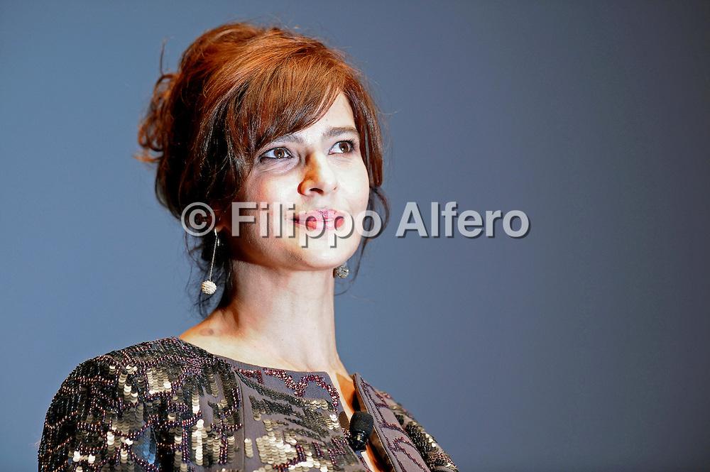 © Filippo Alfero<br /> Inaugurazione 29° Torino Film Festival<br /> Torino, 25/11/2011<br /> spettacolo cinema<br /> Nella foto: Laura Morante
