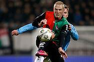 Onderwerp/Subject: NEC - VVV Venlo - Eredivisie<br /> Reklame:  <br /> Club/Team/Country: <br /> Seizoen/Season: 2012/2013<br /> FOTO/PHOTO: Nick VAN DER VELDEN (FRONT) of NEC in duel with Kaj RAMSTEIJN (BEHIND) of VVV Venlo. (Photo by PICS UNITED)<br /> <br /> Trefwoorden/Keywords: <br /> #04 $94 ±1355229055132<br /> Photo- & Copyrights © PICS UNITED <br /> P.O. Box 7164 - 5605 BE  EINDHOVEN (THE NETHERLANDS) <br /> Phone +31 (0)40 296 28 00 <br /> Fax +31 (0) 40 248 47 43 <br /> http://www.pics-united.com <br /> e-mail : sales@pics-united.com (If you would like to raise any issues regarding any aspects of products / service of PICS UNITED) or <br /> e-mail : sales@pics-united.com   <br /> <br /> ATTENTIE: <br /> Publicatie ook bij aanbieding door derden is slechts toegestaan na verkregen toestemming van Pics United. <br /> VOLLEDIGE NAAMSVERMELDING IS VERPLICHT! (© PICS UNITED/Naam Fotograaf, zie veld 4 van de bestandsinfo 'credits') <br /> ATTENTION:  <br /> © Pics United. Reproduction/publication of this photo by any parties is only permitted after authorisation is sought and obtained from  PICS UNITED- THE NETHERLANDS