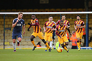 Bradford City midfielder Mark Marshall (7) launching a counter attack during the EFL Sky Bet League 1 match between Southend United and Bradford City at Roots Hall, Southend, England on 19 November 2016. Photo by Matthew Redman.
