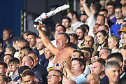 Derby County celebrate at the full time whistle during the EFL Sky Bet Championship match between Huddersfield Town and Derby County at the John Smiths Stadium, Huddersfield, England on 5 August 2019.