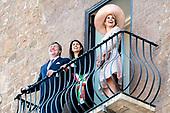 Staatsbezoek van Koning en Koningin aan de Republiek Italie Dag 1