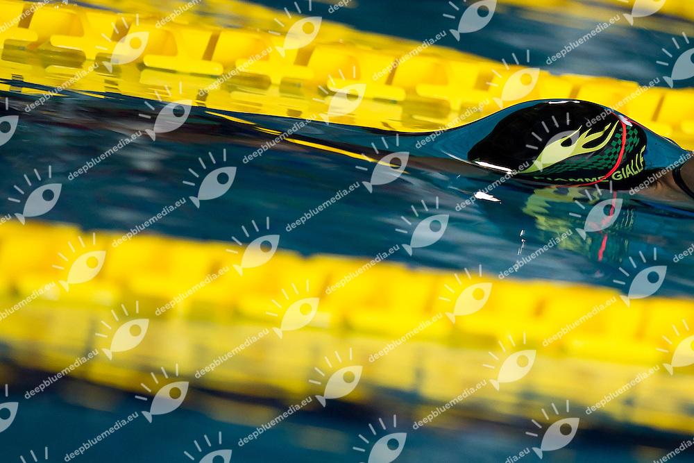 Jasmine Scimone<br /> Fiamme Gialle<br /> 50 Stile Libero Batterie<br /> Campionati Italiani Assoluti Nuoto Primaverili<br /> Riccione  Italy 8 - 12/04/2013<br /> Day05<br /> Photo Andrea Masini/Deepbluemedia/Insidefoto