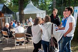 VIP during Davis Cup Slovenia vs. South Africa on September 14, 2013 in Tivoli park, Ljubljana, Slovenia. (Photo by Vid Ponikvar / Sportida.com)