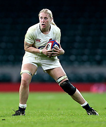 Tamara Taylor of England - Mandatory by-line: Robbie Stephenson/JMP - 04/02/2017 - RUGBY - Twickenham - London, England - England v France - Women's Six Nations