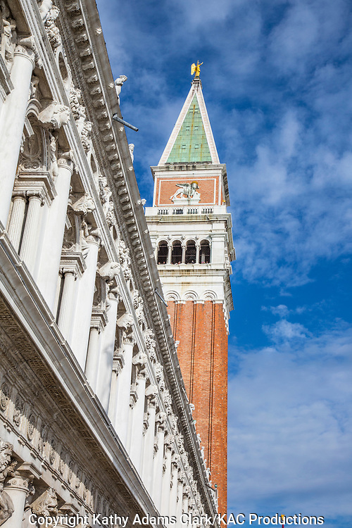 Campanile San Marco; Italy; Piazza San Marco; Venice