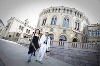 OSLO 20090424; Tom og Ragnhild.  FOTO: TOM HANSEN