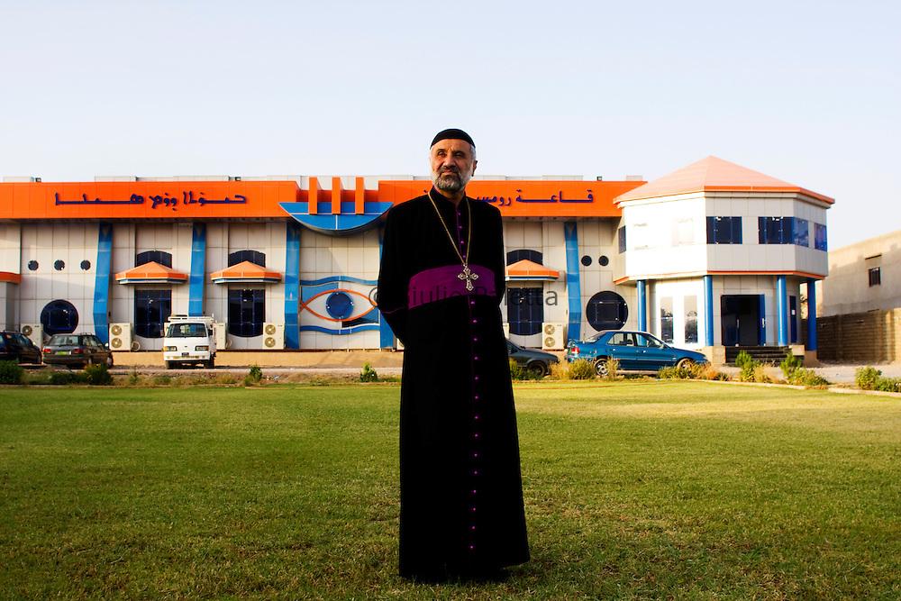 The local priest of Bahzani, Mosul