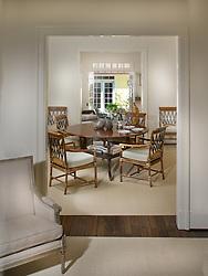 1242 Potomac Washington DC Frank Babb Randolph Designer Dining Room