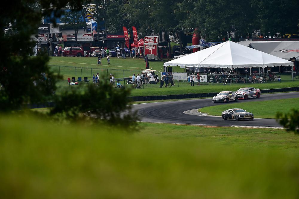 22-23 August 2014, Alton, Virginia USA<br /> 07, Aston Martin, Vantage, GS, Max Riddle, Kris Wilson<br /> &copy;2014, Scott R LePage <br /> LAT Photo USA