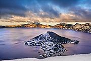 Crater Lake, Crater Lake National Park, OR.