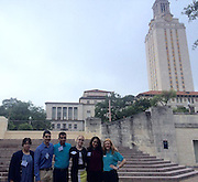 Eastwood Academy senior Alexandra Mena at the Subiendo Academy for Rising Leaders, McCombs School of Business, University of Texas. Mena is the student on the left.