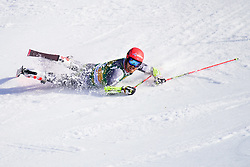 March 9, 2019 - Kranjska Gora, Kranjska Gora, Slovenia - Leif Kristian Nestvold - Haugen of Norway in action during Audi FIS Ski World Cup Vitranc on March 8, 2019 in Kranjska Gora, Slovenia. (Credit Image: © Rok Rakun/Pacific Press via ZUMA Wire)