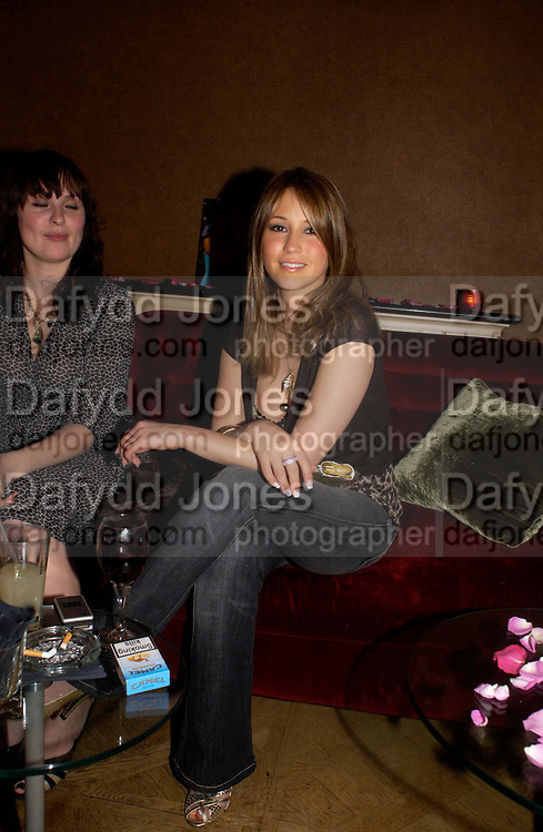 Rachel Stevens. Jewellers Adler  celebrate their 20 th anniversary in London.  5 Cavendish Square, London. 4 May 2005. ONE TIME USE ONLY - DO NOT ARCHIVE  © Copyright Photograph by Dafydd Jones 66 Stockwell Park Rd. London SW9 0DA Tel 020 7733 0108 www.dafjones.com