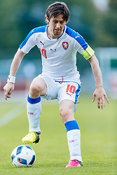 27.05.2016, Grenzlandstadion, Kufstein, AUT, Testspiel, Tschechien vs Malta, im Bild Tomas Rosicky (CZE) // Tomas Rosicky of Czech Republic during the International Friendly Match between Czech Republic and Malta at the Grenzlandstadion in Kufstein, Austria on 2016/05/27. EXPA Pictures © 2016, PhotoCredit: EXPA/ JFK