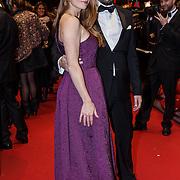 NLD/Amsterdam/20131104 - Premiere Het Diner, Sytske van der Ster en partner Dante Boon