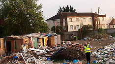 JUNE 26 2013 Romanian squatters evicted