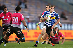 Huw Jones of Western Province on the attack during the Currie Cup Premier Division match between the DHL Western Province and the Pumas held at the DHL Newlands rugby stadium in Cape Town, South Africa on the 17th September  2016<br /> <br /> Photo by: Shaun Roy / RealTime Images