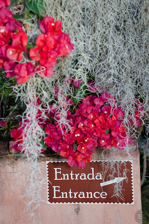 """Entrada"" - This entrada, or entrance, sign was photographed in Puerto Vallarta, Mexico."