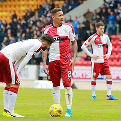 James Tavernier & Jon Toral Discuss options from a freekick just outside the 18 yard box