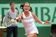 Roland Garros. Paris, France. May 30th 2012.Pole player Agnieszka RADWANSKA against Venus WILLIAMS.