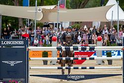Wernke Jan (GER), Nashville HR<br /> Balve - Longines Optimum 2019<br /> LONGINES Optimumpreis<br /> Deutsche Meisterschaft der Springreiter<br /> Finalwertung<br /> 16. Juni 2019<br /> © www.sportfotos-lafrentz.de/Stefan Lafrentz