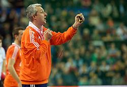LEIZPIG - WC HOCKEY INDOOR 2015<br /> GER v NED (Semi Final 1)<br /> R&Ouml;SCH Robin<br /> FFU PRESS AGENCY COPYRIGHT FRANK UIJLENBROEK