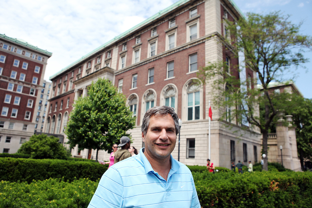 """Bill Basri '84.Son: Ross Basri '15.Brother: Raymond Basri '77..""""No one is going to tell you to go to class from now on. Go to class. You don't want to miss a minute."""""""