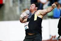 Friidrett , 7. juni 2012 , Diamond League Bislett Games , <br /> Dylan Armstrong , kule , shot put