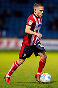 Lincoln City midfielder Jack Payne (10) during the EFL Sky Bet League 1 match between Gillingham and Lincoln City at the MEMS Priestfield Stadium, Gillingham, England on 16 November 2019.